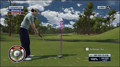 FOKUS: Nytt av året er focus meter, dette begrenser bruken av spin og kraftboost betraktelig. Foto: EA