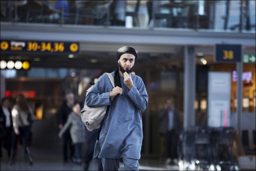 MASSIV KRITIKK: Mohyeldeen Mohammads statusoppdatering på Facebook får krass kritikk fra flere muslimske miljøer i Norge. Selv ønsker han ikke å kommentere saken overfor VG Nett. Foto: Frode Hansen/VG