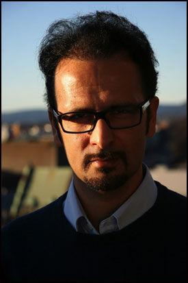 BER FOLK REAGERE: Den norsk-iranske menneskerettsforkjemperen Mahmood Amiry-Moghaddam har sin egen menneskerettsblogg på VG Nett. Foto: Stian Eisenträger