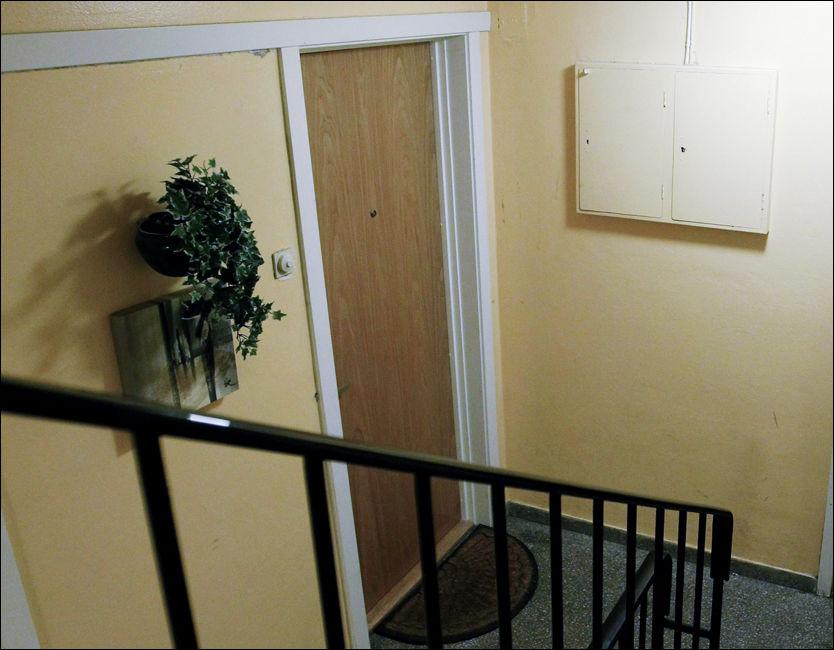 TATT: I denne leiligheten i Oslo-området bor den terror-tatte iraker (37). Foto: Scanpix