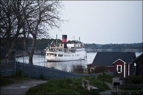 VAKKERT: Det blir ikke så mye mer svensk enn dette. Bildet fra Sandhamn. Foto: JAN JOHANNESSEN / VG