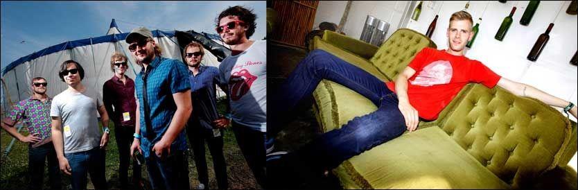 KIDS OG RAP: Casiokids eller Lars Vaular stikker av med en million kroner. Her er de avbildet på henholdsvis Roskilde og Hovefestivalen. Foto: Gøran Bohlin/Petter Emil Wikøren/VG