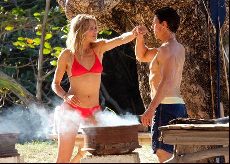SEXY: Cameron Diaz er klar for bikini året rundt, men innrømmer at hun trente litt ekstra for å komme inn i denne lille røde. FOTO: Twentieth Century Fox