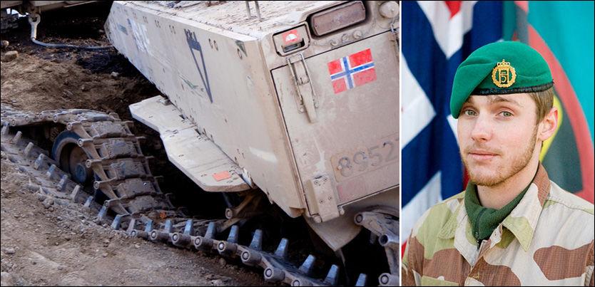 VEIBOMBE-EKSPERT DREPT: Mullaen som skal ha stått bak bombeangrepet som tok livet av Claes Joachim Olsson (bildet), skal nå selv være drept i kamp med norske styrker. Foto: PRT MEYMANEH/FORSVARET