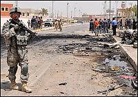 Bilbomber i flere irakiske byer