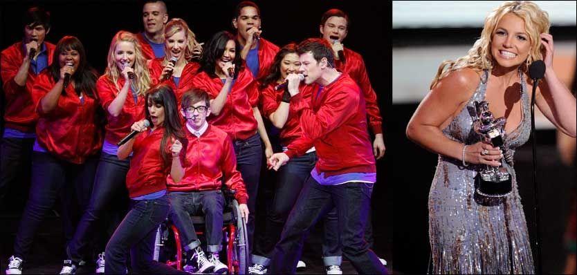 PÅ GLI: Britney Spears skal være aktuell for en rolle i «Glee», i en episode dedikert til henne. Foto: AP