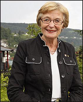 RASKT I DIALOG: Samnanger-ordfører Marit A. Aase. Foto: Scanpix