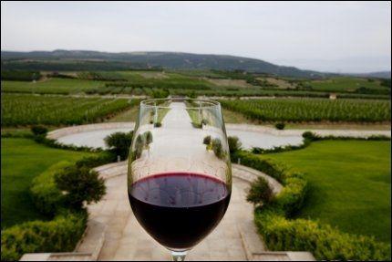 - DRIKK VIN: Forskere i Tromsø mener de kan dokumentere bedre hukommelse og konsentrasjon blant folk som drikker vin. Her er et glass fylt med vin fra Pangeondistriktet i Hellas. Foto: TERJE BRINGEDAL/VG
