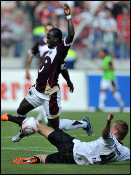 HELT: Didier Konan Ya var banens beste. Foto: AP