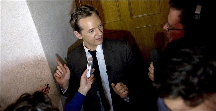 OMSVERMET: Journalisten Julian Assange står bak nettstedet WikiLeaks. Foto: AP