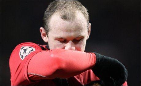 MAGEONDE: Wayne Rooney sliter med helsa. Foto: AP
