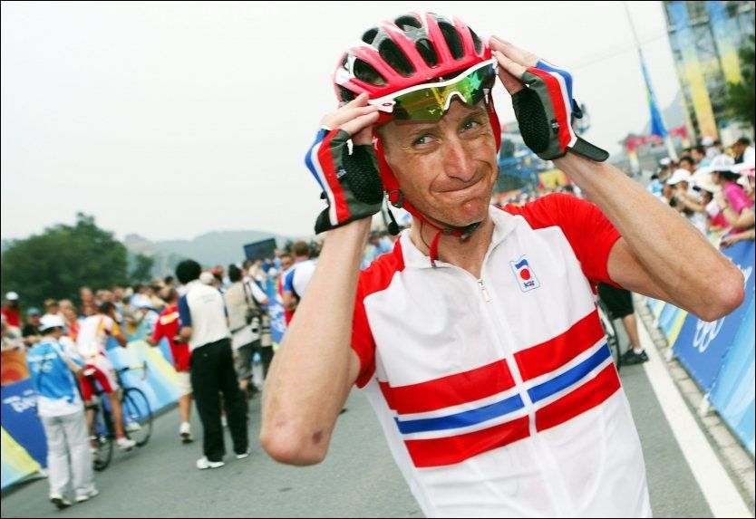 OPPGITT: Kurt Asle Arvesen forteller at han er skuffet etter at det ble klart at han ikke får være med til VM. Foto: Scanpix