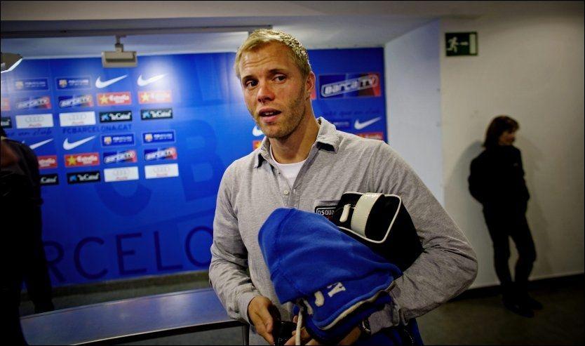 IKKE MED: Eidur Gudjohnsen er ikke med i den islandske troppen som møter Norge i september. Foto: Jørgen Braastad