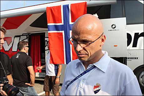 NORSK SPORTSSJEF: Steffen Kjærgaard. Foto: Anders K. Christiansen