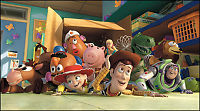 «Toy Story 3» banket Stallone & co.
