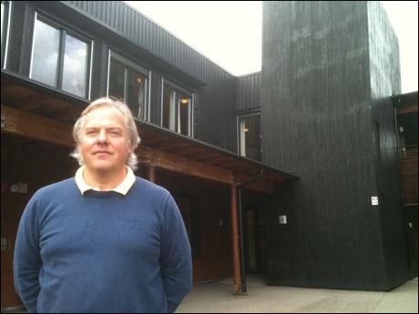 -UBEHAGELIG SAK: Morten Strandskogen er FAU-leder ved skole. Foto: Jostein Matre