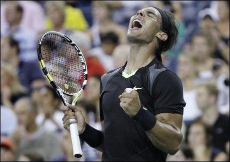 JAKTER NY TITTEL: Rafael Nadal kan vinne US Open for første gang. Foto: AP