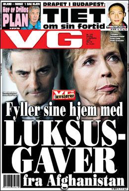 DAGENS VG: Les mer om luksusgavene. Foto: VG