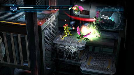 Skjermbilde fra Wii-spillet Metroid: Other M. Foto: TEAM NINJA/NINTENDO