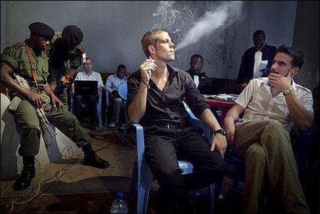 KREVES ERSTATNING: Joshua French og Tjostolv Moland må betale 4,5 millioner dollar i erstatning for å få forlate kongolesisk fengsel. Foto: Scanpix