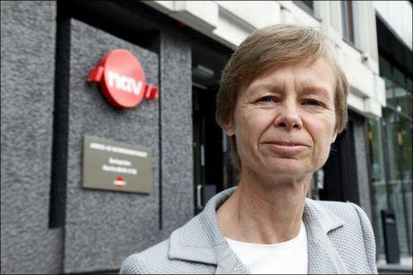 PÅ JAKT: NAV-direktør Hilde Olsen jakter på ledige som ikke vil jobbe. Foto: Knut Erik Knudsen