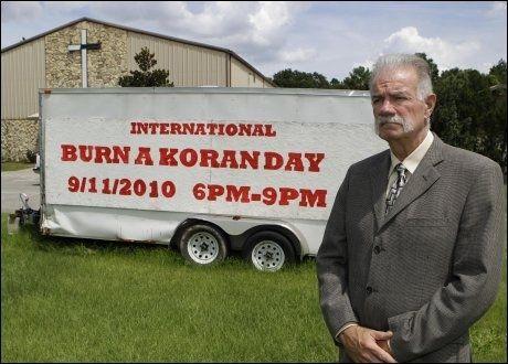 KLAR: Presten Terry Jones er klar for å brenne Koranen 11. september. Foto: Ap Foto: