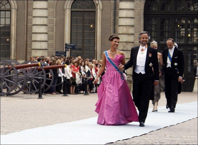 ARVEREKKEN: Prinsesse Märtha Louise er nummer fire i arverekken til den norske tronen. Foto: Lise Åserud / Scanpix