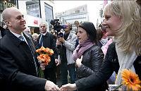 Politiet tok knivmann ved Reinfeldt