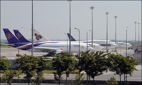 SVÆR FLYPLASS: Bangkok er blitt lettere å fly til etter at den nye, moderne Suvarnabhumi-flyplassen åpnet for fire år siden. Foto: AFP