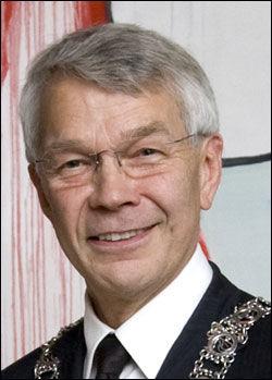 TANNLEGEPRESIDENT: Gunnar Lyngstad er inne i sitt femte år som president i Den norske tannlegeforening. Foto: Den norske tannlegeforening