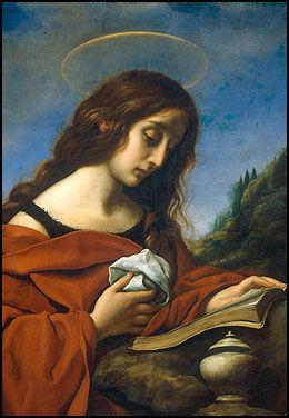 HUSTRU: Av kirken beskrevet som en reformert skjøge, men i andre tradisjoner er Maria Magdalena mor til Jesu' barn. Maleri av Carlo Doci (1616-1686) Foto: Scanpix