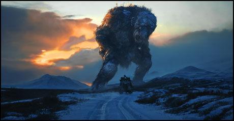 TROLL PÅ FILM: «Trolljegeren» hevder å være verdens første dokumentar om troll. Foto: SF Norge AS