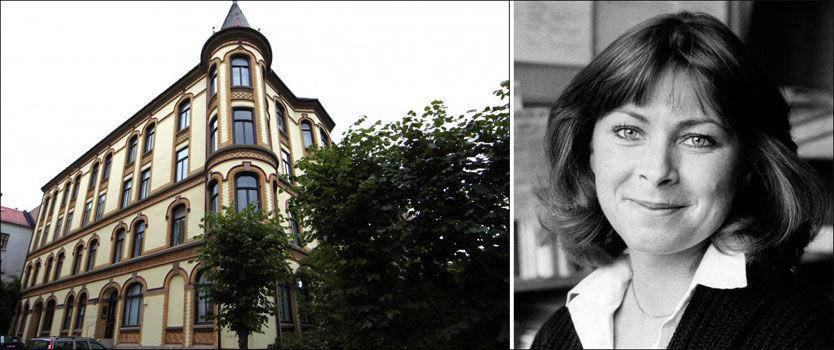 OVERVÅKET: Kari Storækre mener at livet hennes ble ødelagt som følge av Treholt-saken. Hun er rystet over at leiligheten i Oscars gate 61 ble overvåket. Bildet av henne er fra begynnelsen av 80-tallet. Foto: Tore Kristiansen/Scanpix