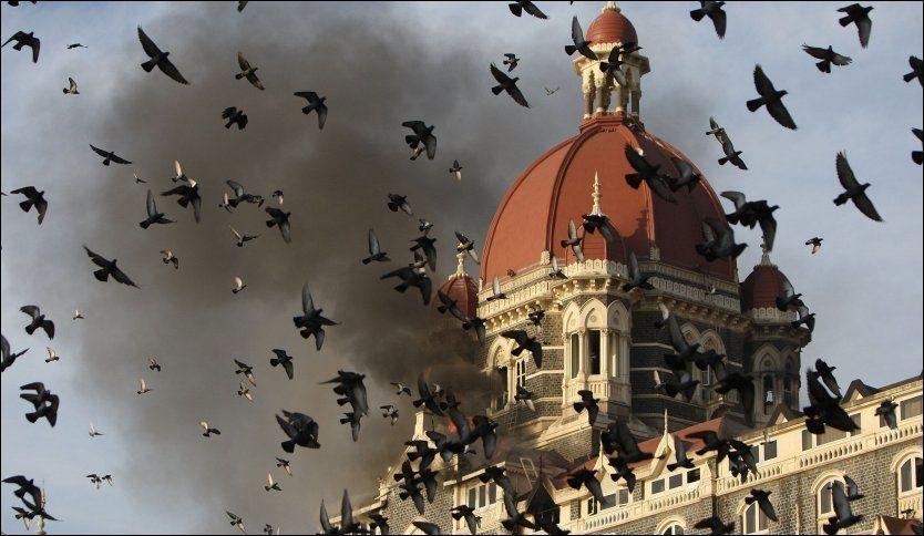 TERRORAKSJON: I 2008 ble det gjennomført et større terrorangrep mot dette hotellet i Mumbai, India. Foto: AFP