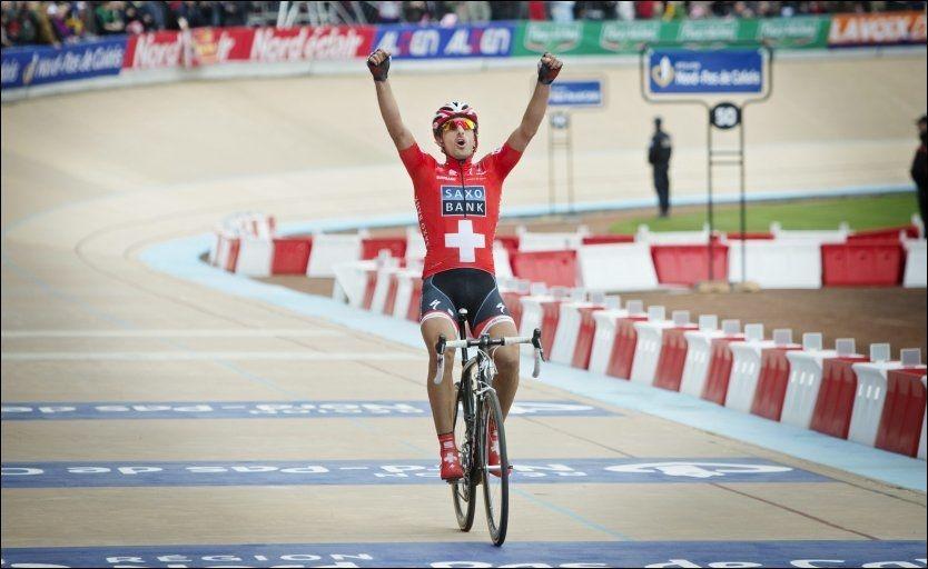 VANT: Fabien Cancellara, her fra et ritt tidligere i år. Foto: Jørgen Braastad