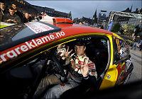 Petter Solberg avsluttet sterkt lørdag