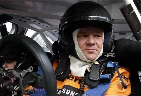 TIL TOPPS: Henning Solberg vant S2000-klassen i Frankrike. Foto: Scanpix