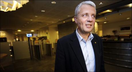 KRITISK: Dagfinn Høybråten kritiserte regjeringens forslag til statsbudsjett for 2011 tirsdag. Foto: Kristian Helgesen, VG.