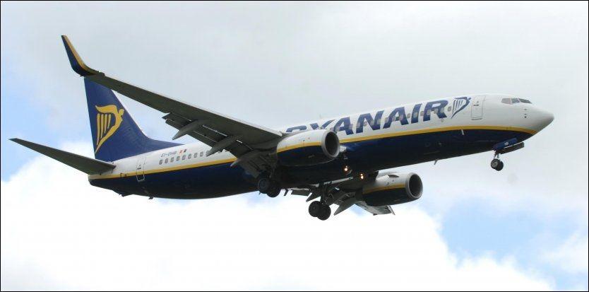 GEBYR-VERSTING OG PRISVINNER...: Ifølge Kelkoo-undersøkelsen har Ryanair den største gebyrandelen på 40 prosent i forhold til grunnprisen. Likevel havner det irske flyselskapet blant de absolutt rimeligste transportørene på sitt rutenett. Foto: Pa Photos