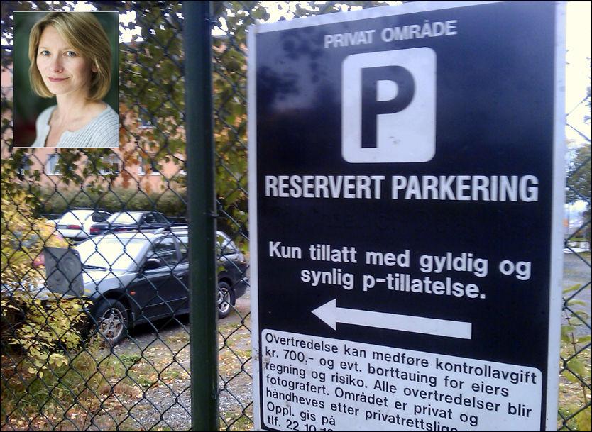 TIL ANGREP PÅ BØTER: Fungerende forbrukerombud Gry Nergård i Forbrukerombudet mener det er uhørt med parkeringsgebyr på 700 kroner. Foto: Privat/Forbrukerombudet
