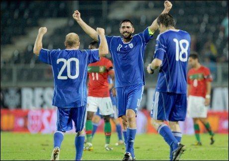 FRA START: Mikhalis Konstantinou starter på topp for Kypros. Foto: AFP