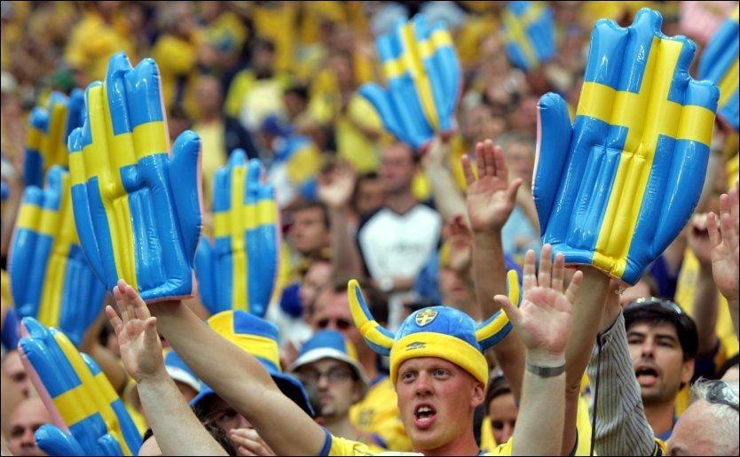ENGASJERTE: Svenskene vil til EM selv, og har ikke noe imot at Norge blir med, skal vi tro svenskene VG Nett har vært i kontakt med. Foto: Scanpix