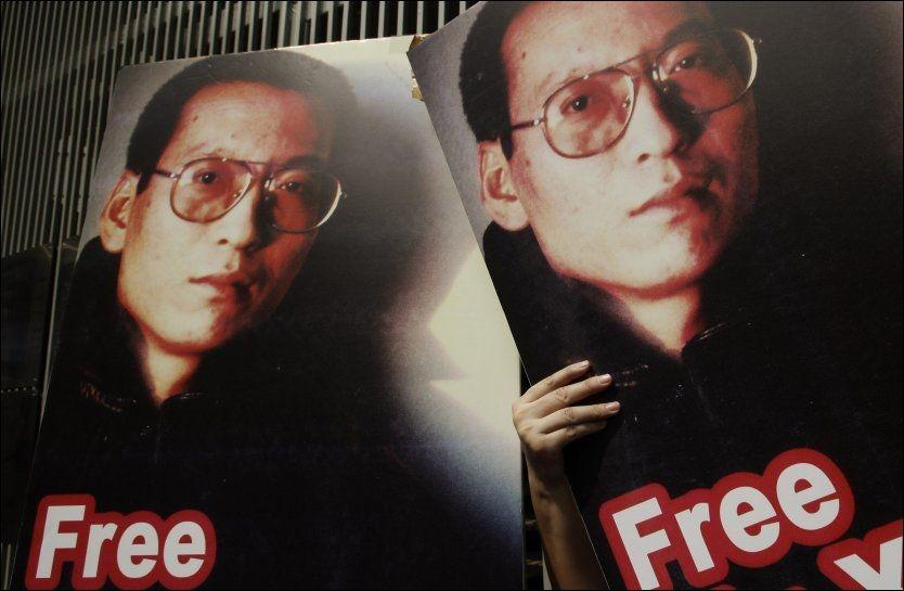 FENGSLET: Årets fredsprisvinner Liu Xiaobo er dømt til 11 år i fengsel. Foto: Ap Foto: