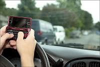 Ikke færre krasj med SMS-forbud i bil