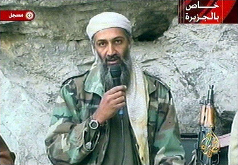 LANG JAKT: Amerikanske myndigheter har jaktet på Osama bin Laden i over ni år. Nå sier en NATO-topp at de vet hvor den ettersøkte terrorlederen gjemmer seg. Foto: AP/Al Jazeera