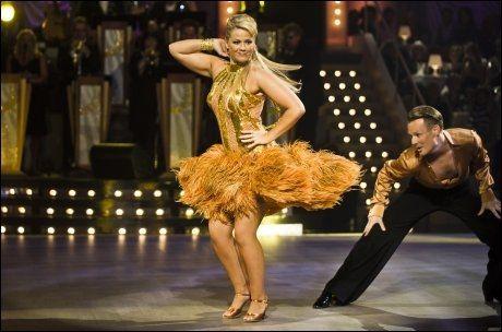 TILBAKE PÅ DANSEGULVET: Maria Haukaas Mittet kommer tilbake til «Skal vi danse» på lørdag. Foto: Scanpix