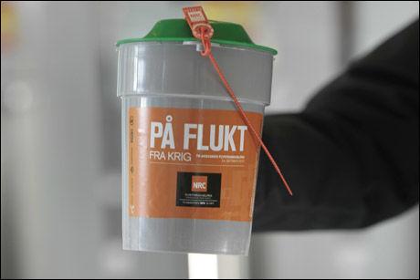 STOR SUKSESS: Årets TV-aksjon ga gode penger i kassen for Flyktninghjelpen. Foto: Scanpix