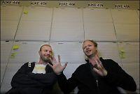 Bård og Harald lager TV hos fremmede
