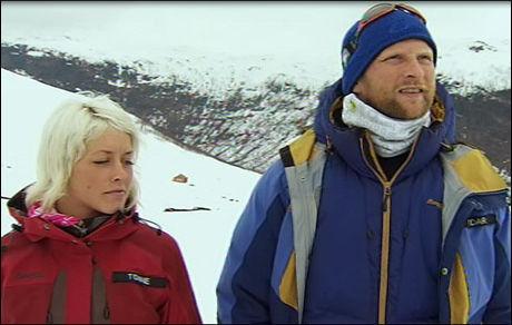 BEGGE UT: Både Tonnie Lobekk (22) og Vidar Holmen (37) måtte forlate «71 grader Nord». Foto: TVNorge Foto:
