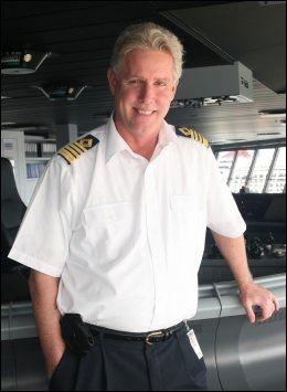 SKULLE GJERNE HATT STØRRE: Kaptein William «Bill» Wright. Foto: ROYAL CARIBBEAN